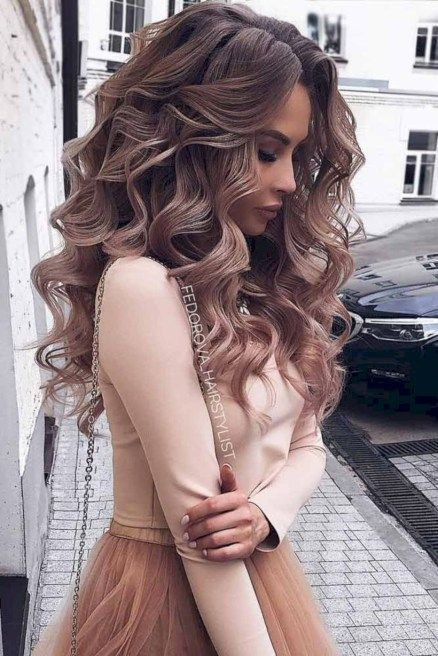 56 Trending Prom Hairstyles 2018-2019 for Long / Medium Hair and All Color Hair