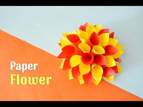 Easy petal flowers youtube vnon stromky pinterest flower easy petal flowers youtube mightylinksfo