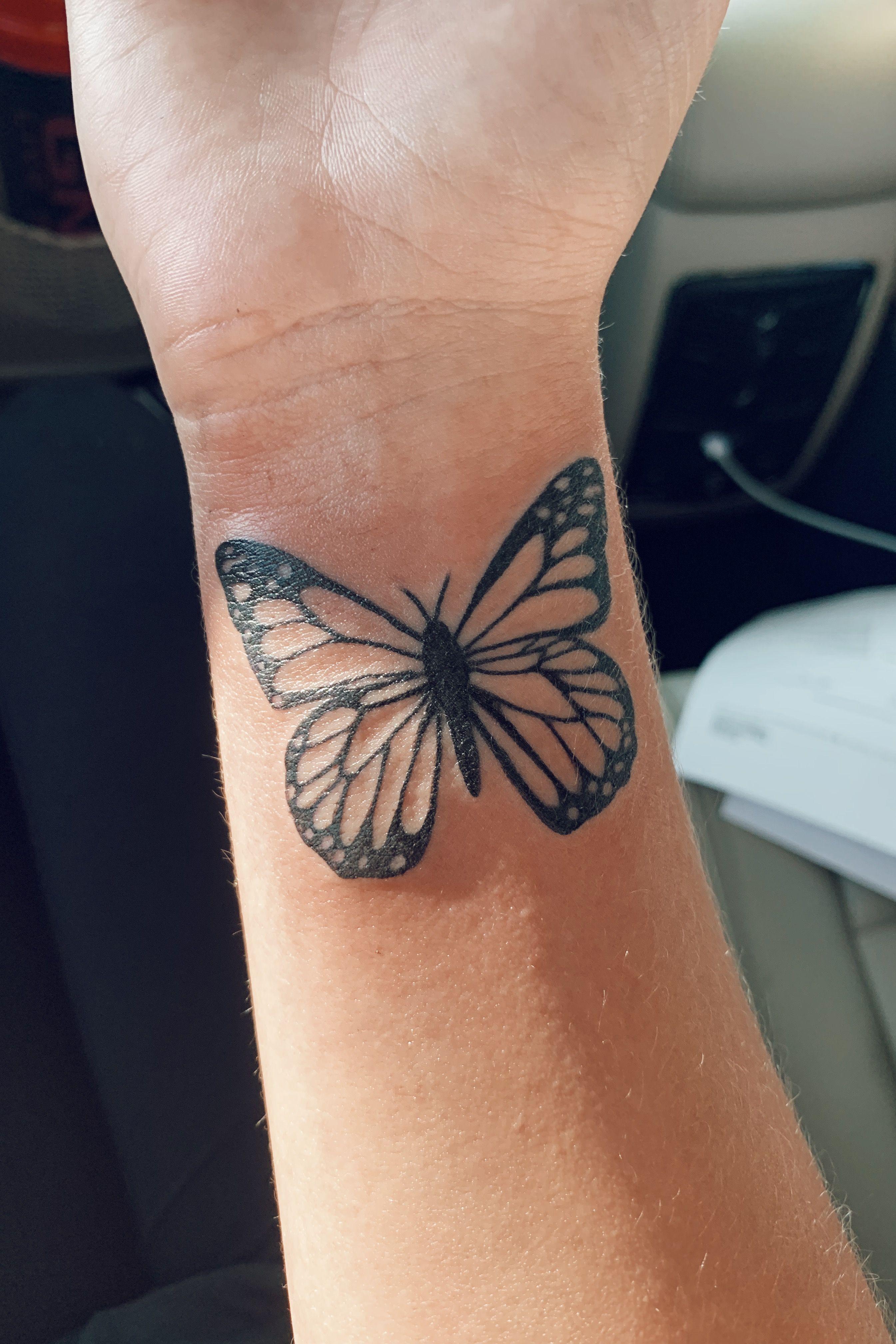 Butterfly Tattoo Butterfly Tattoo Small Tattoos Tattoos