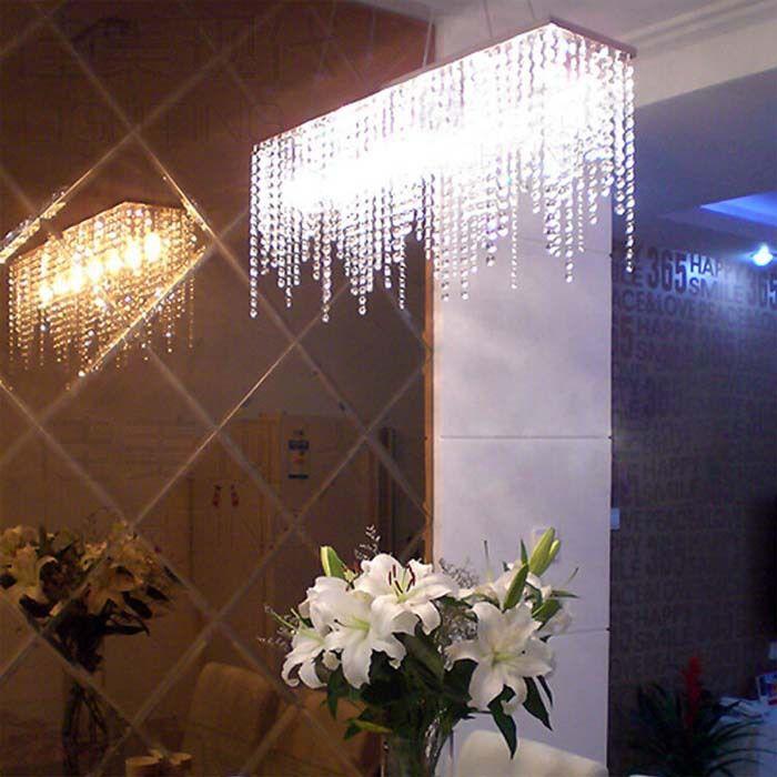 Pas cher TomDa Mode Moderne K9 Lustre En Cristal pour Salle À Manger - lustre pour salle a manger