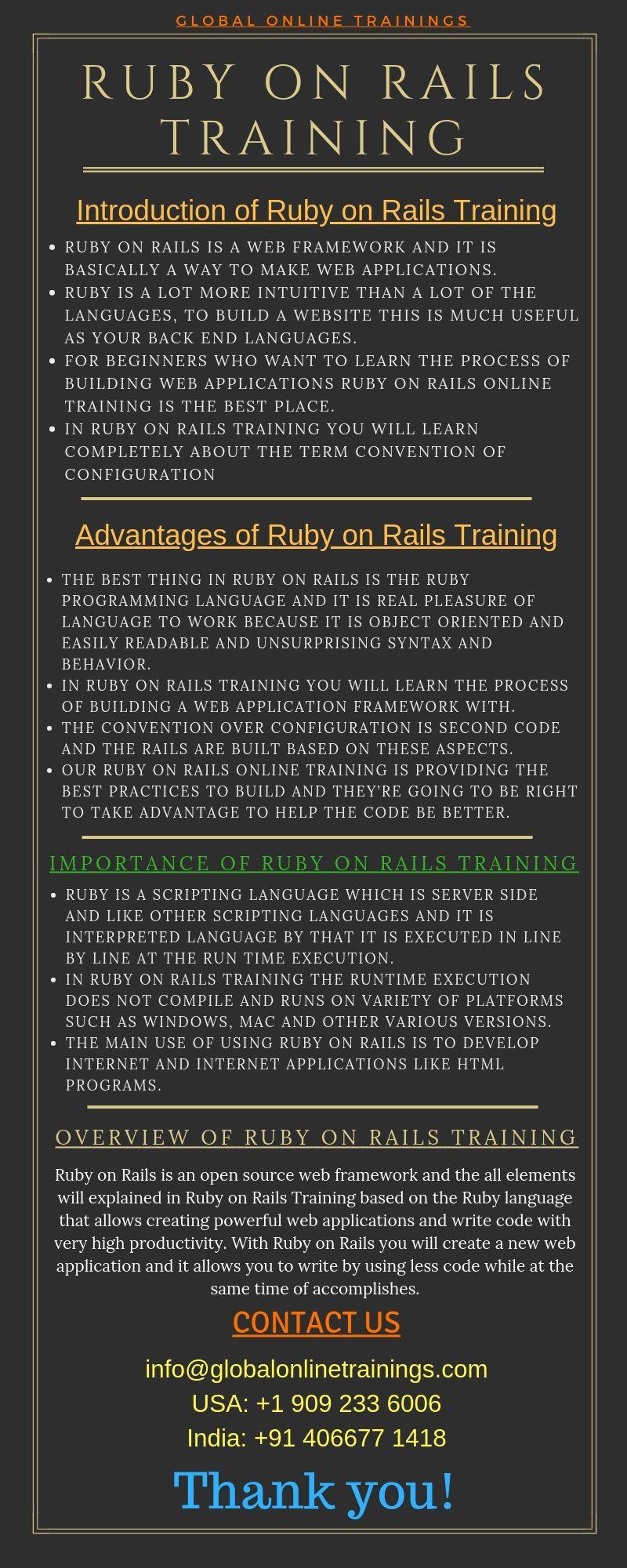 Ruby on Rails Training   Ruby on Rails online Training – GOT