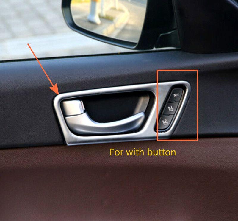 For Kia K5 Optima 2016 2017 High Equipped Interior Door Handle Bowl Cover Trims Interior Accessories Doors Interior Door Handles