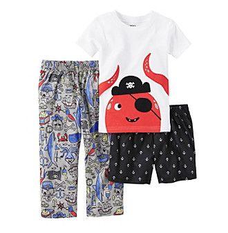 c000ca764 Carter s® Boys  3-Piece Octopus Pajama Set