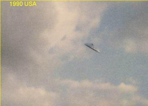 UFO Photo : USA - 1990
