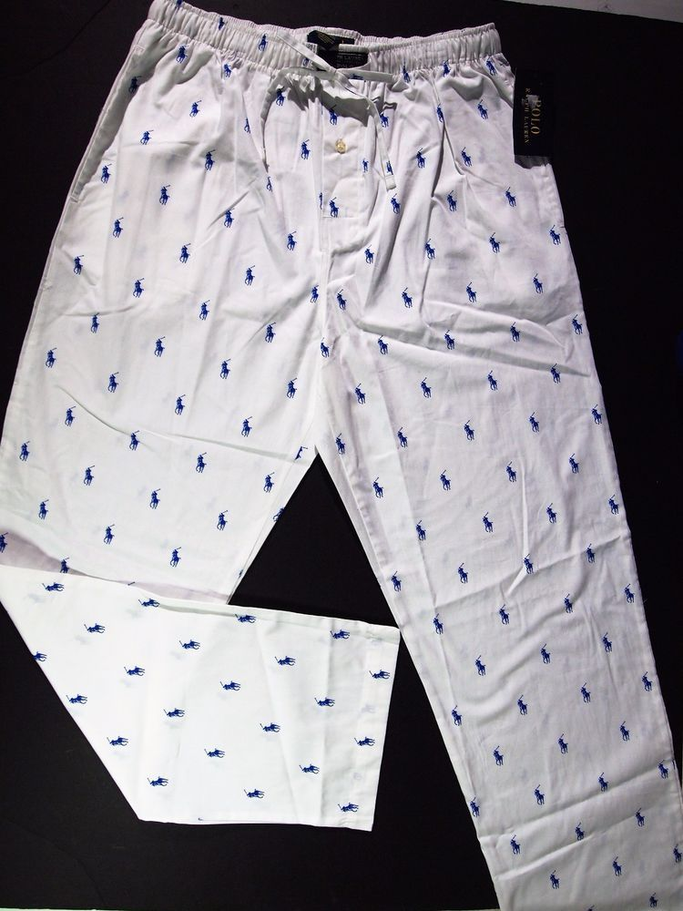 04a540b22b Polo Ralph Lauren men s woven polo player pajama all over pony pants size  xl  PoloRalphLauren  LoungePants