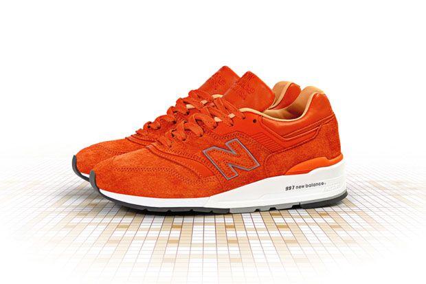 997 new balance orange
