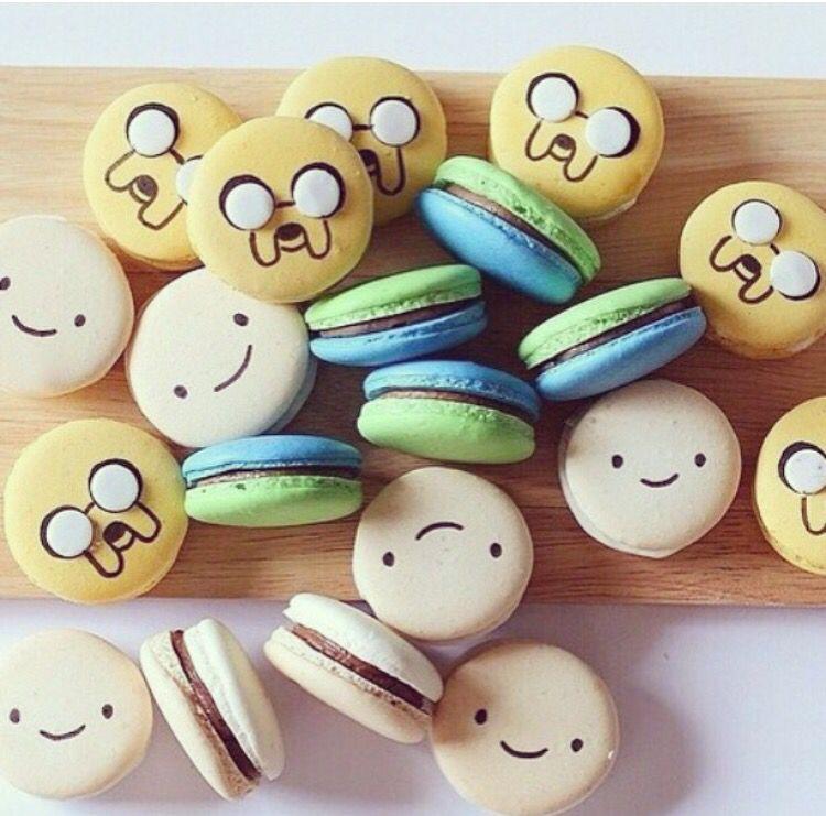 Adventure Time macaroons❤️