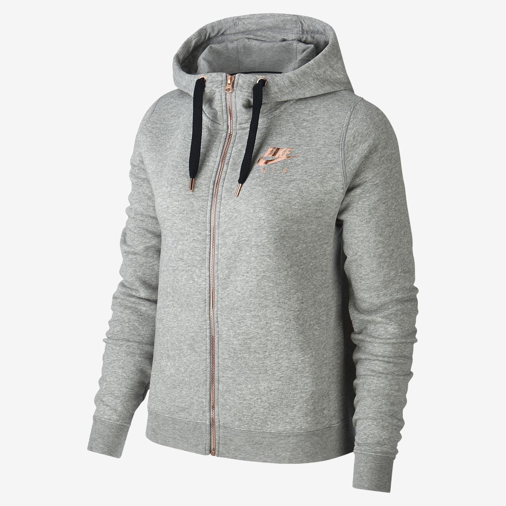 d3eb19459a28 Sudadera con capucha de cierre completo para mujer Nike Sportswear Rally  Fleece