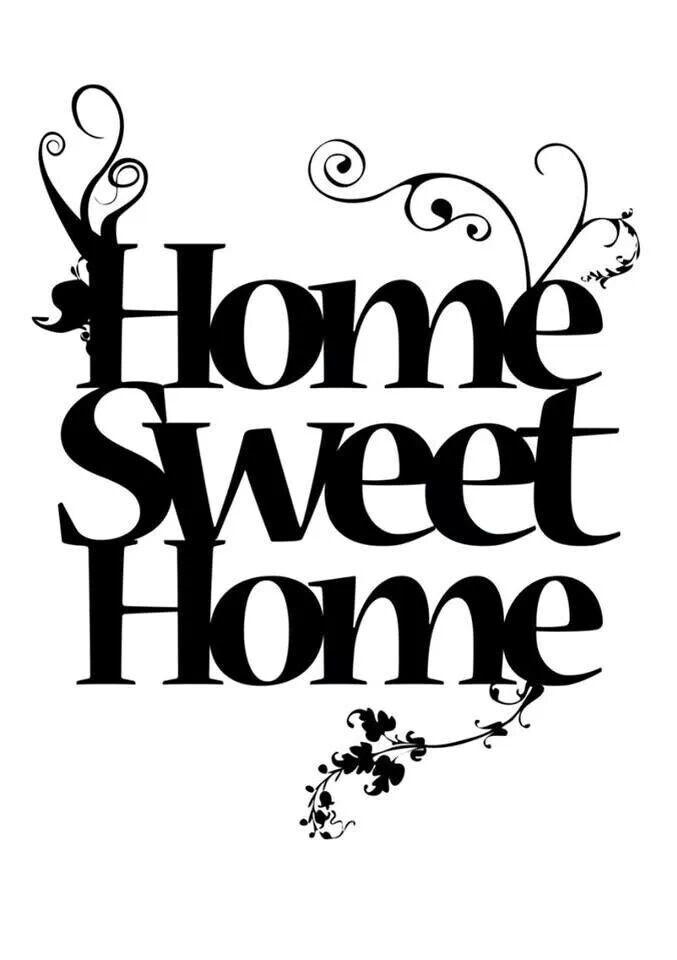Home Sweet Home Teksty Sweet Home Plakat