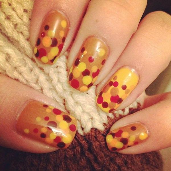 Cool Thanksgiving And Fall Nail Designs An Interesting Way To Dress