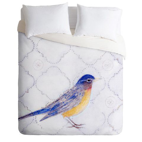 DENY Designs Home Accessories | Hadley Hutton American Robin Duvet Cover