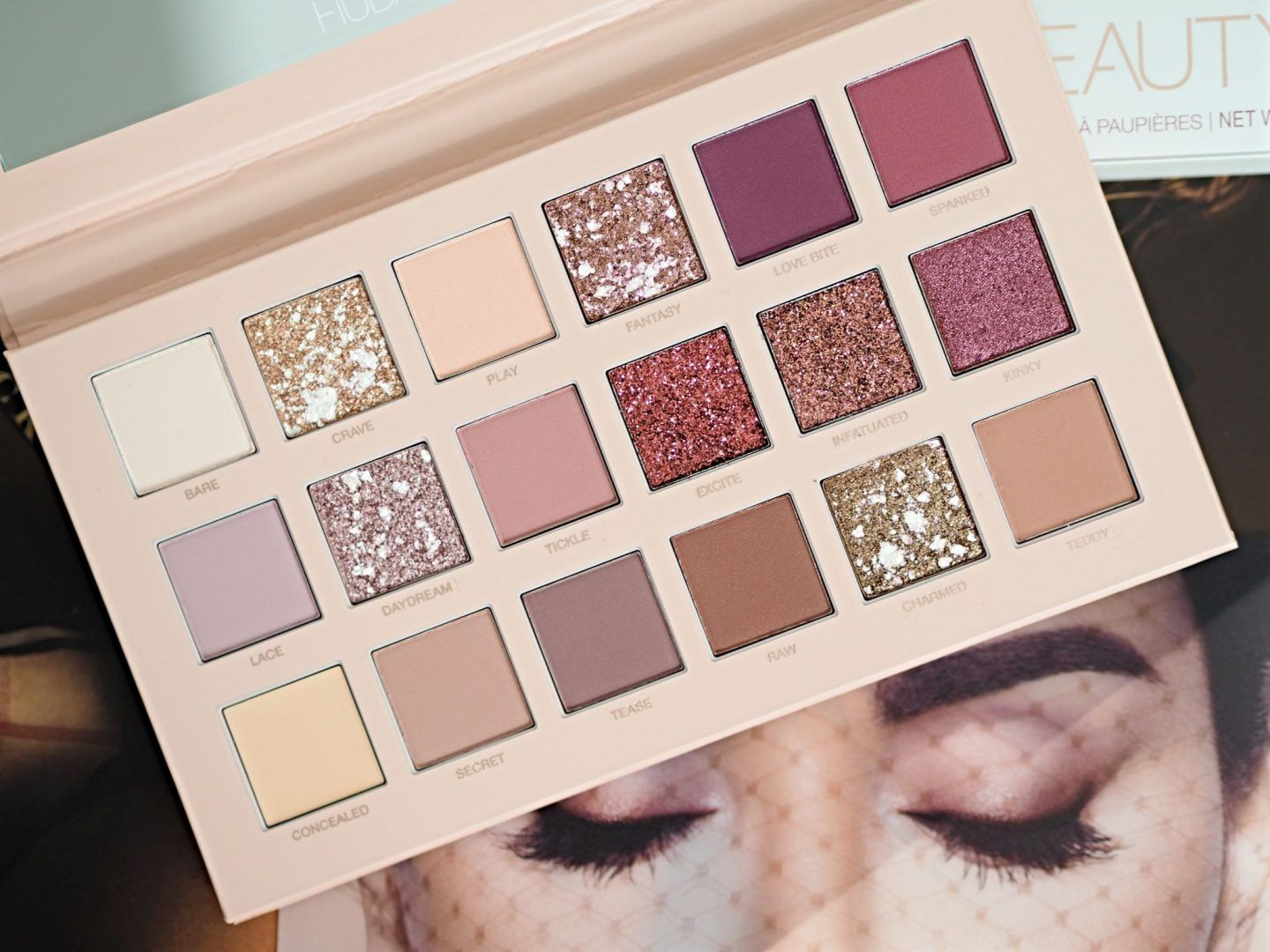 Huda beauty debuts nude eye palettes for every skin tone nude obsessions palette
