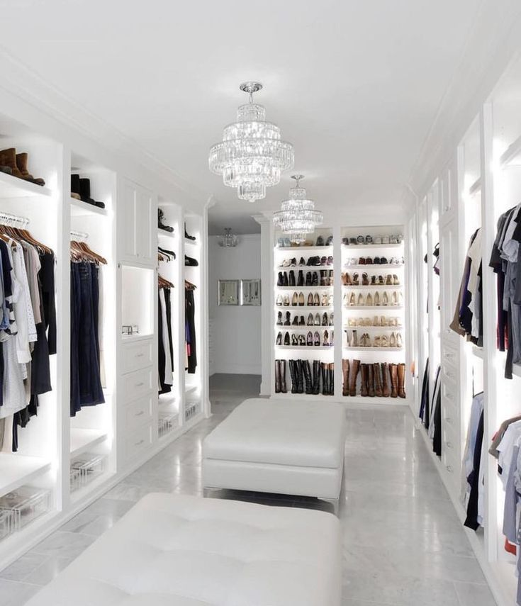 massive dream closet #dreamhome #style