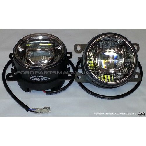 Led Daytime Running Light Drl With Projector Led Fog Lamp Focus Fiesta Running Lights Light Accessories Fog Lamps