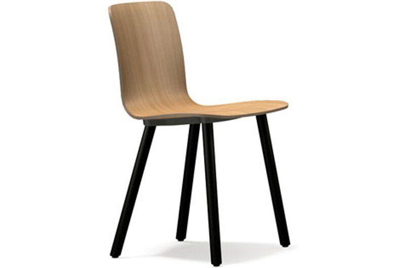 Vitra Hal Ply Wood Stuhl - Beine Eiche dunkel, Schale Eiche hell Jetzt bestellen unter: https://moebel.ladendirekt.de/kueche-und-esszimmer/stuehle-und-hocker/holzstuehle/?uid=4946b9bc-edf8-53ac-8eab-33b356f324b0&utm_source=pinterest&utm_medium=pin&utm_campaign=boards #kueche #holzstuehle #esszimmer #hocker #stuehle