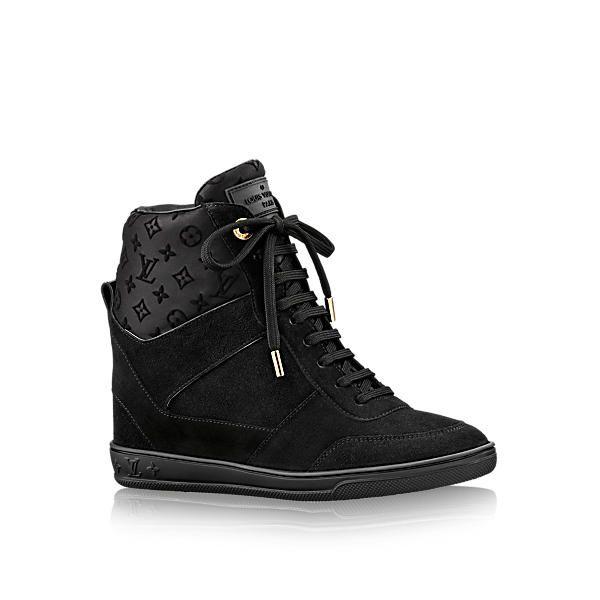 80478115028 LOUIS VUITTON Millenium Wedge Sneaker.  louisvuitton  shoes ...