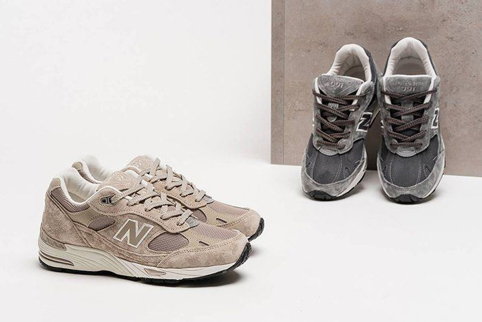 Ash 991 New Made Balance light Grey In And Womens Tan Uk FF5zwq