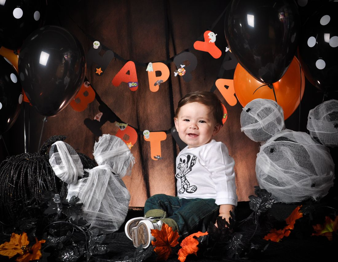 Halloween birthday party decoration ideas - Halloween Theme Birthday