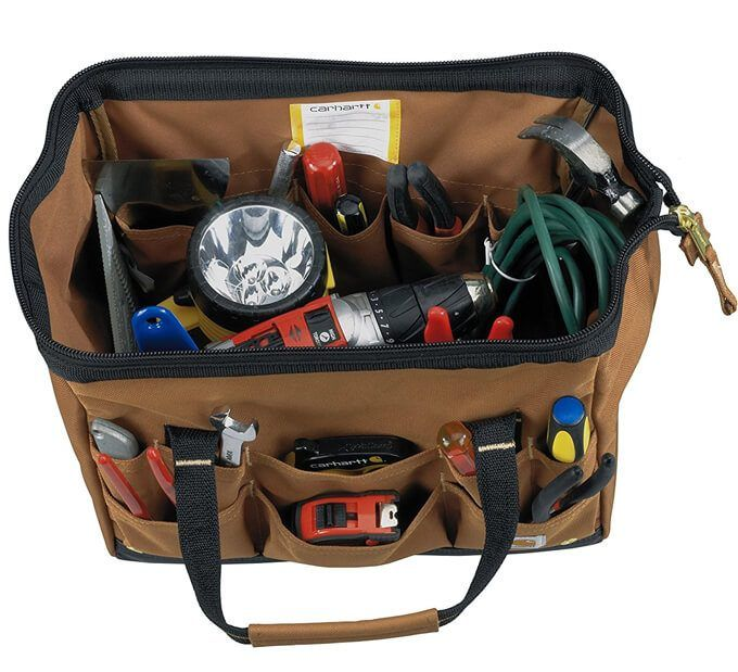 NEW Carhartt Tool Pouch Work contractor electrical HANDYMAN