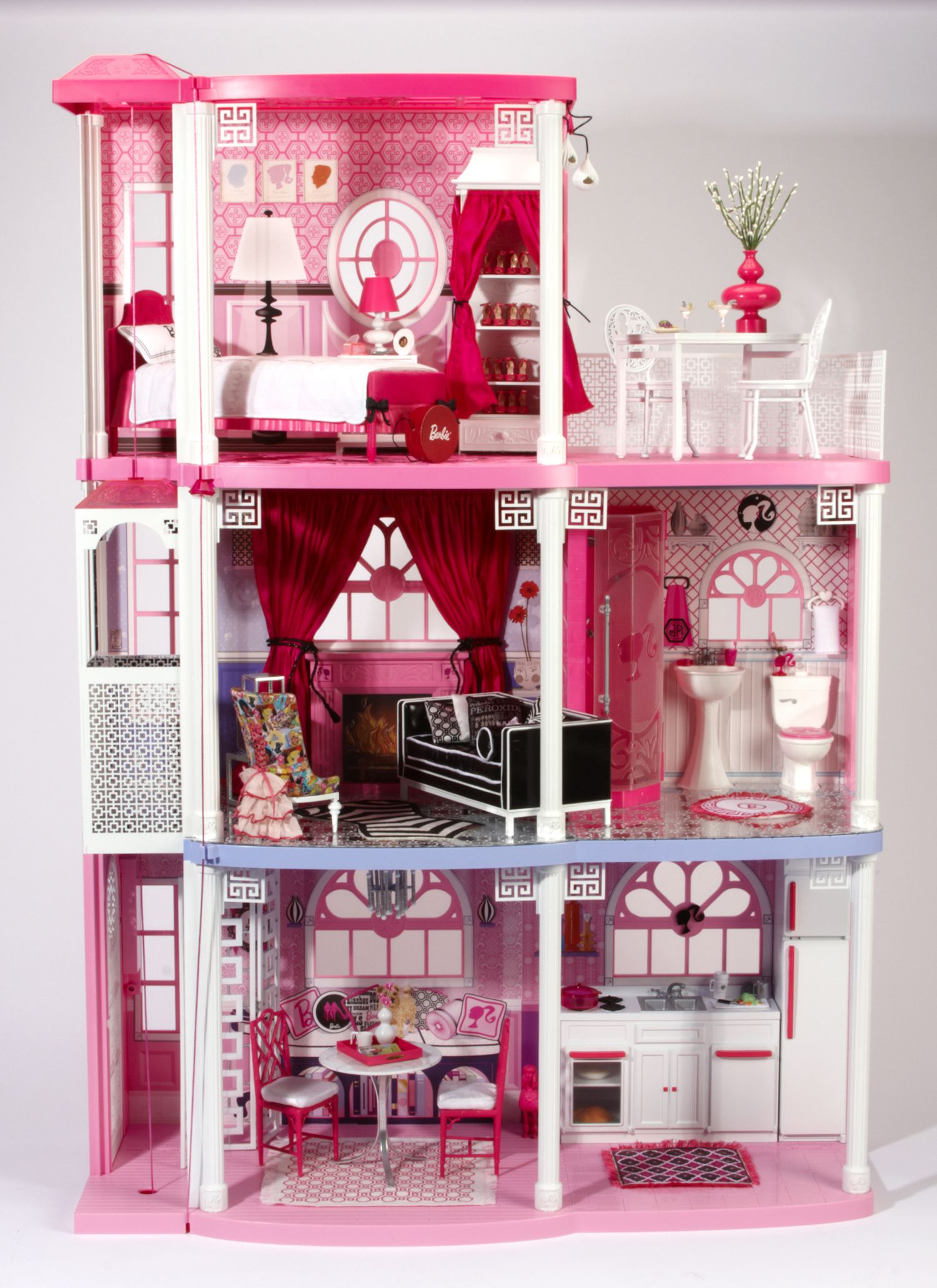 charitybuzz the one and only jonathan adler barbie dream house lot 109504 small things. Black Bedroom Furniture Sets. Home Design Ideas