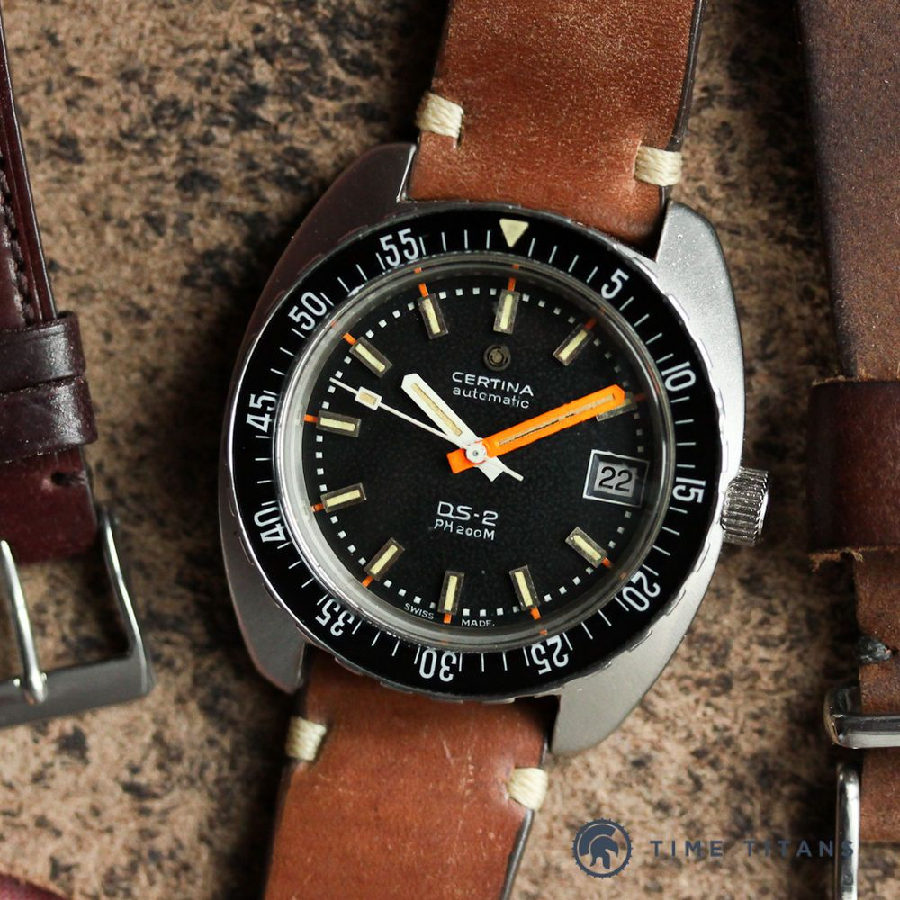 52acd8dac9 CERTINA DS2 PH200M ref. 5801-303 40MM STAINLESS STEEL VINTAGE DIVER cal.  25-651