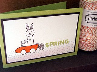 impressrubberstamps.com - Carrot Car