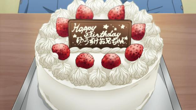 Resultado de imagem para anime birthday cake