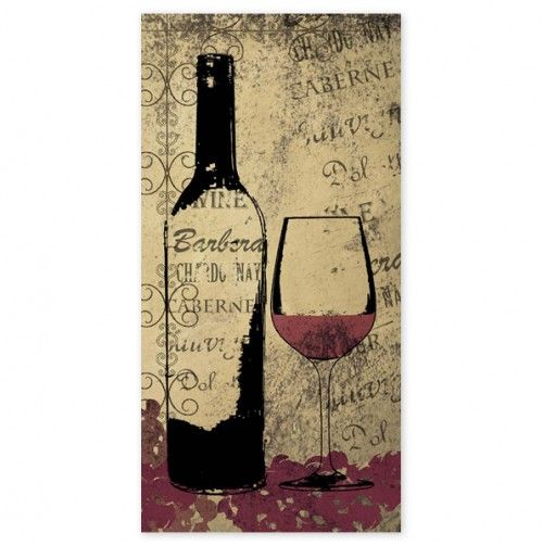 Red Wine 10x20 - Canvas Wall Art - Events | Art | Pinterest | Red ...