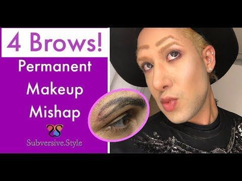 Four Eyebrows Quadrabrow Q-Switch Tattoo Removal for ...