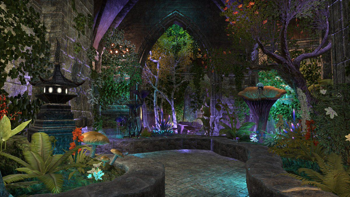 Eso Housing Black Vine Villa Indoor Garden Big Garden