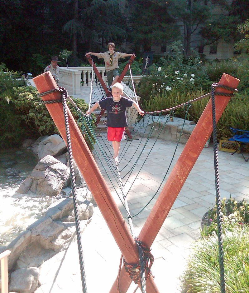 rope course | ropes course | pinterest | playhouses, backyard