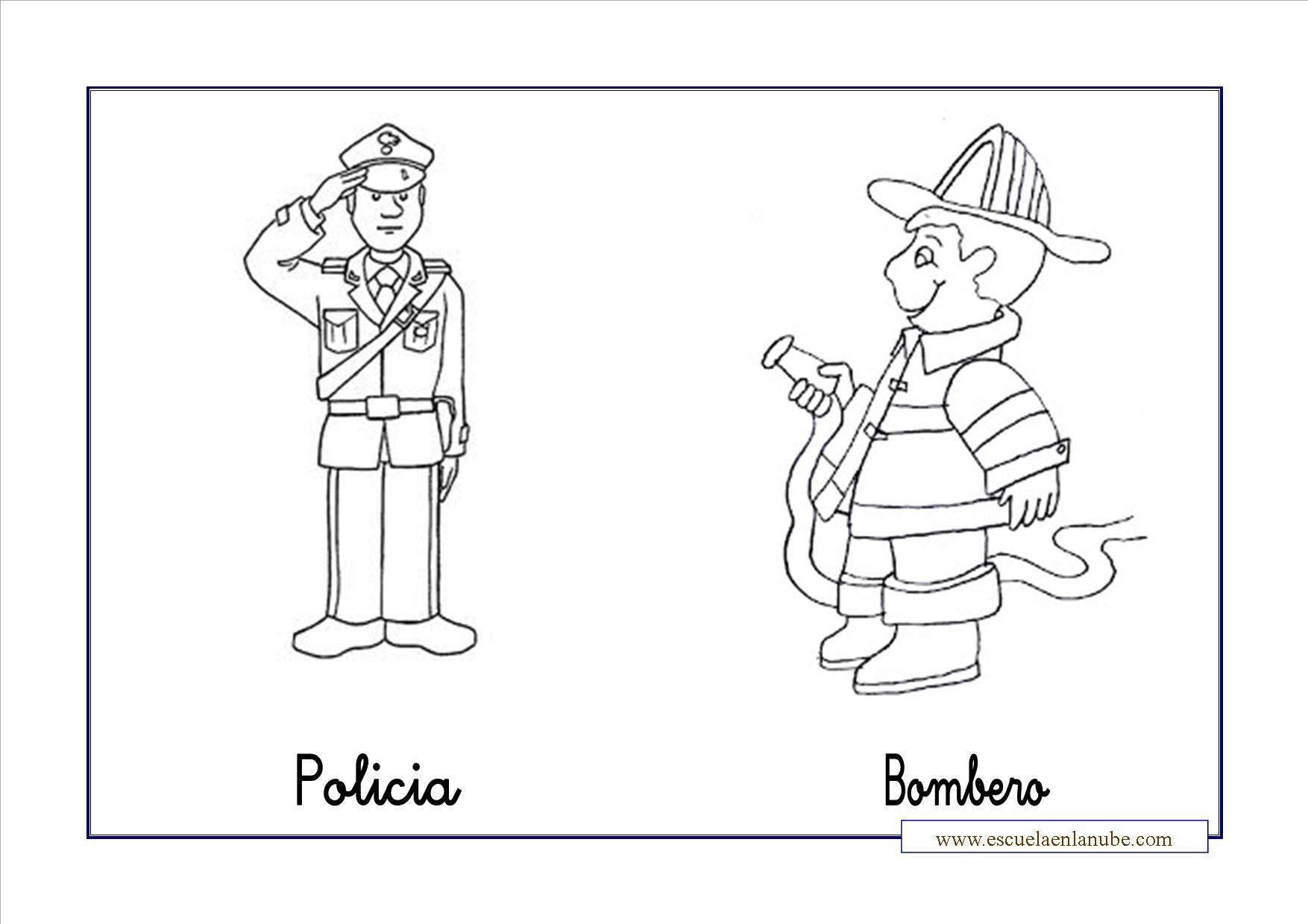 Comunidad Dibujo Para Colorear: Dibujos Para Colorear Depreescolar De La Comunidad