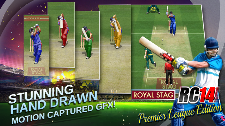 Enjoy Real Cricket Game on Mobile app. this app is very