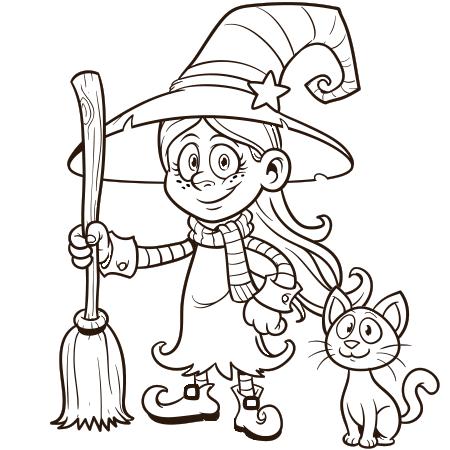 petitesorciere.png (450×450) Desenhos do dia das bruxas
