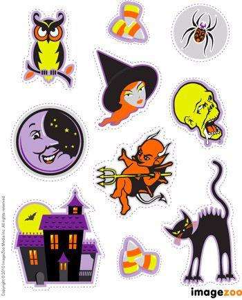 des embellissements sur le thème d'Halloween.