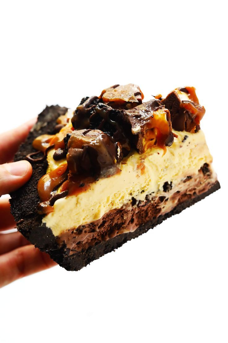 Snickers Kuchen Torte Snickers Ice Cream Pie Kuchen Kuchen Cakes In 2019