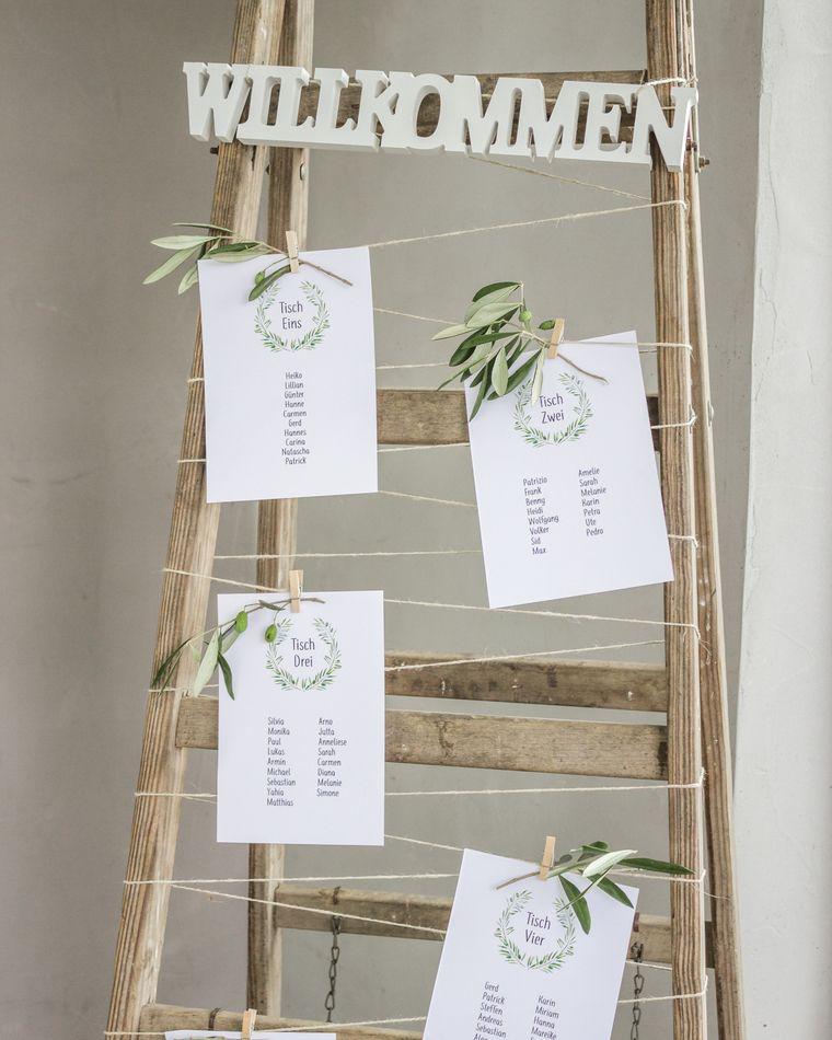 30 Ideen Fur Hochzeitsdeko Mit Olivenzweigen Hochzeitskiste Sitzplan Hochzeit Ideen Fur Die Hochzeit Sitzplan