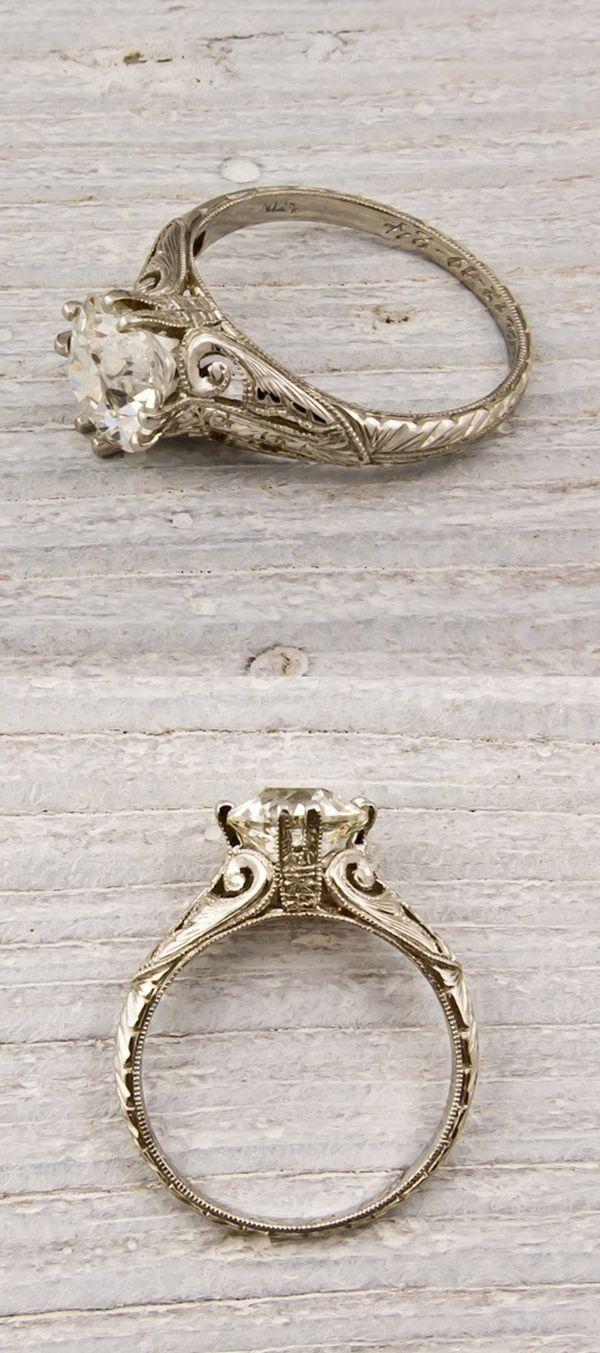 20 Stunning Wedding Engagement Rings That Will Blow You Away Elegantweddinginvites Com Blog Wedding Rings Vintage Diamond Engagement Rings Vintage Wedding Rings Engagement