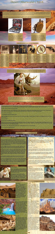 Desert Otherworld CYOA by Lone Observer | Forgotten Time