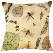 The Dragonfly Etching cushion covers are printed from a dry point etching by Australian artist, Jet James. Jet's magnificent etchings are replicated in all their detail for you to enjoy as cushion lounge art $39 www.cushiontemple.com.au