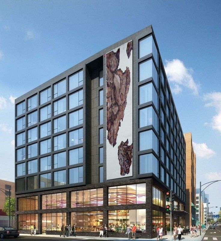 River north s mysterious moxy hotel revealed for River north boutique hotels
