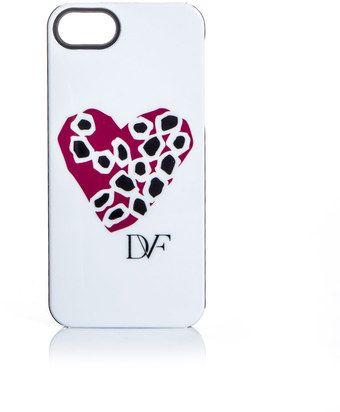 Diane Von Furstenberg Stone Heart Iphone Case - Lyst