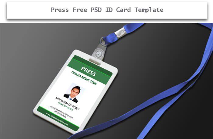 Press Free Psd Id Card  Design Desk    Creative
