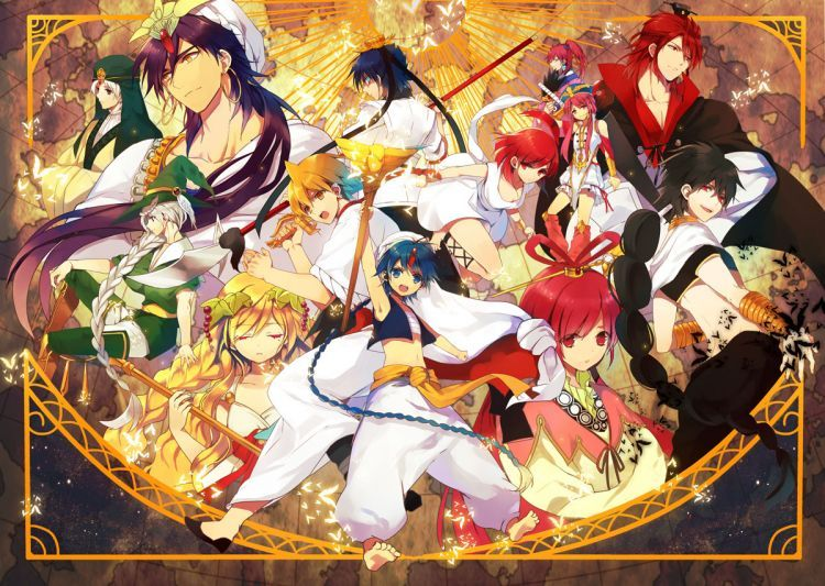 Risultati immagini per magi the labyrinth of magic wallpaper