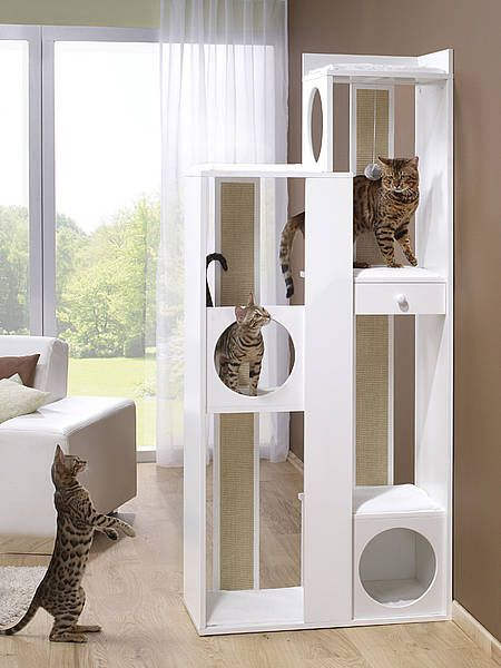more4 die premiummarke f r hunde und katzen kratzbaum jump cat furniture pinterest cat. Black Bedroom Furniture Sets. Home Design Ideas