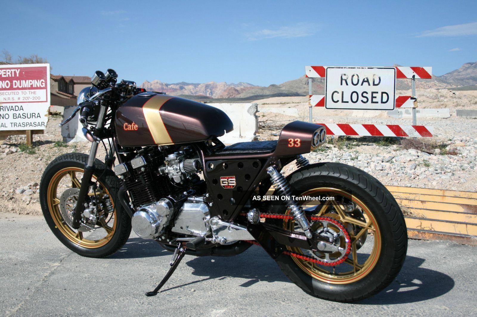 1981 gs1100 cafe racer | custom cafe racer motorcycle - 1981