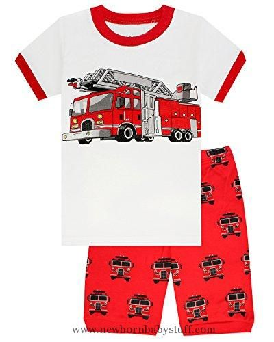 092c4ea2de Baby Boy Clothes Family Feeling Fire Truck Baby Boys Shorts Set Pajamas 100%  Cotton Clothes Infant Kid T Shirt Pants 18-24 Months