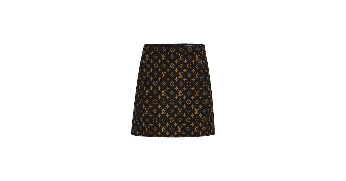 5ef9b76fe8 Mini Skirt With Button Detail in 2019   SKIRTS   Mini skirts, Louis ...
