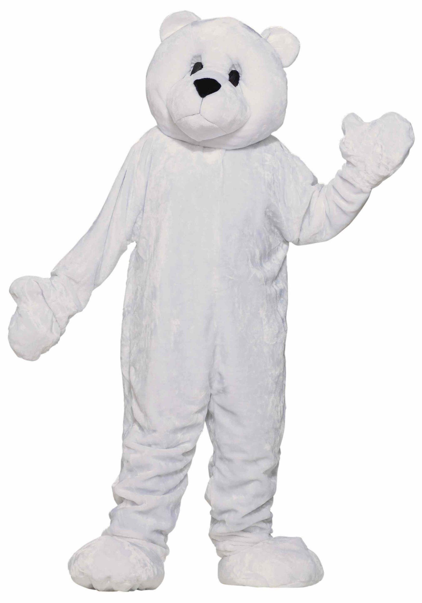 Mascot Polar Bear Costume  sc 1 st  Pinterest & Mascot Polar Bear Costume | Halloween Costume Ideas 2014 | Pinterest ...