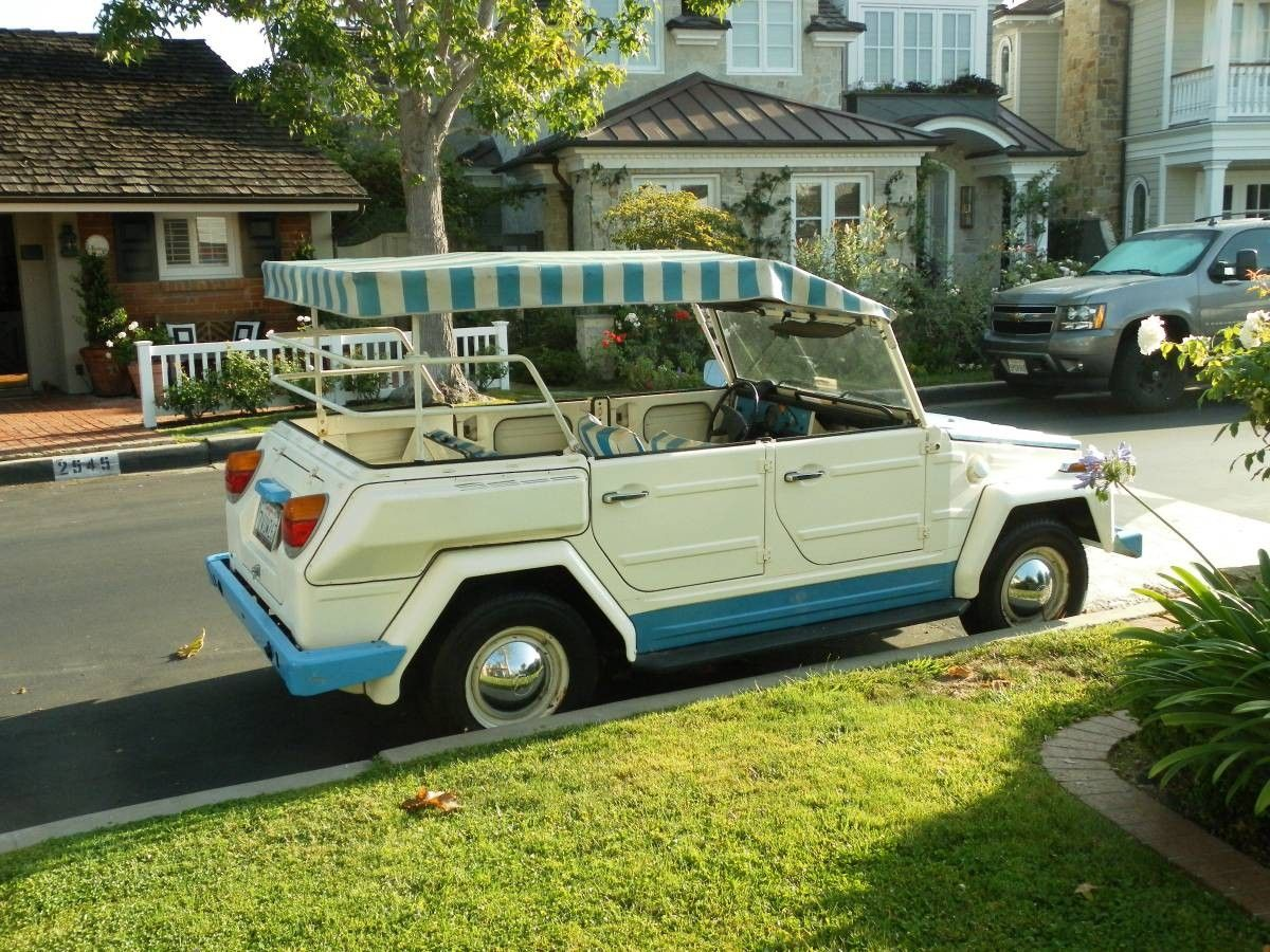 Acapulco Edition 1974 Vw Thing Classic Cars Vintage Classic Cars Best Classic Cars